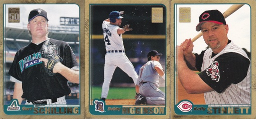 2001 Topps s2 Gold 50th