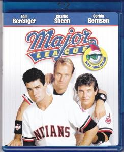 Major League Blu Ray case