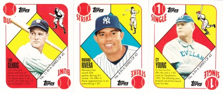 Trade Card Chop - 2010 Red Backs