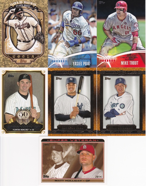 trade Common Card Man - 2014 inserts