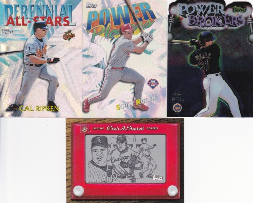 trade Common Card Man - 90s Topps inserts
