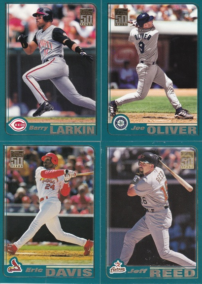2001 Topps 90 Reds