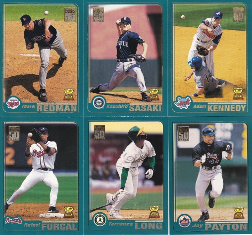 2001 Topps All-Star Rookie Subset