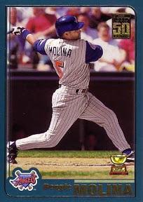 2001 Topps Bengie Molina