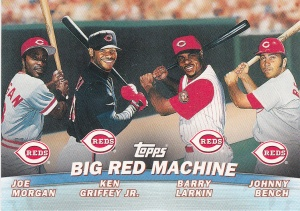 2001 Topps Combos Big Red Machine