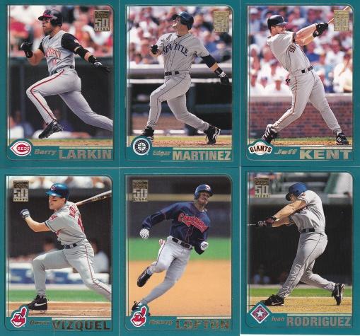 2001 Topps Hitters