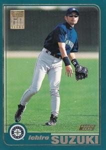 2001 Topps Ichiro RC