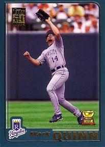 2001 Topps Mark Quinn
