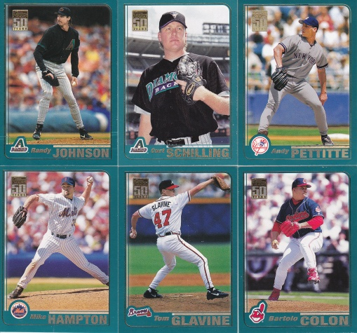 2001 Topps Pitchers