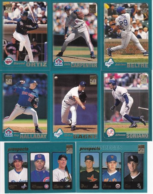 2001 Topps Prospects