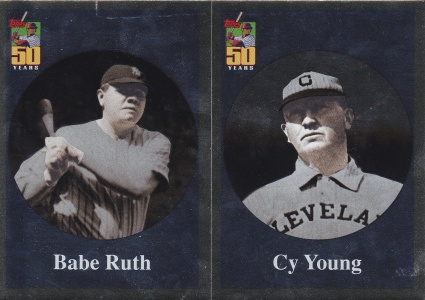 2001 Topps s2 Before Topps Babe Ruth Cy Young