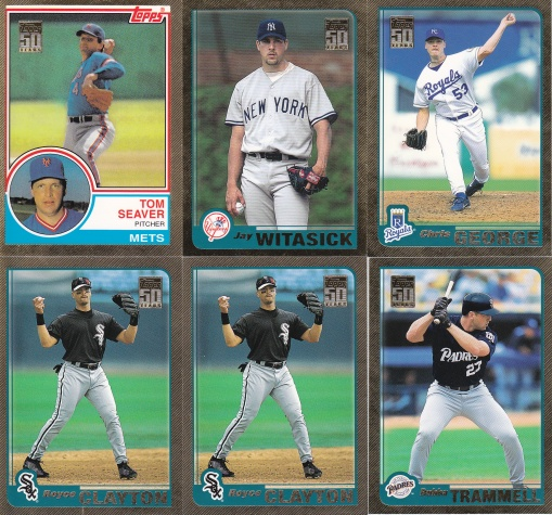 2001 Topps Traded Gold