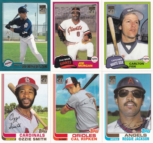 2001 Topps Traded HOFers