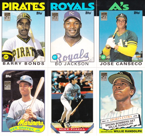 2001 Topps Traded Through the Years