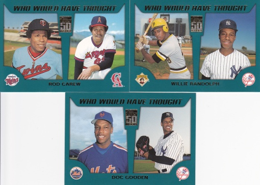 2001 Topps Traded Who Would Have Thought