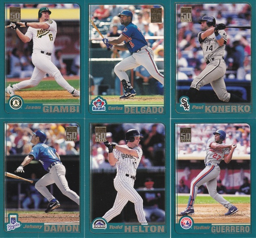 2001 Topps Young stars