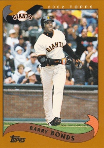 2002 Topps Barry Bonds
