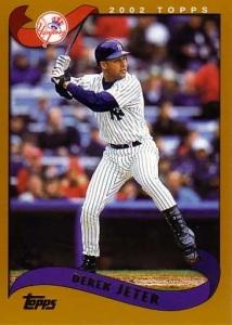 2002 Topps Derek Jeter