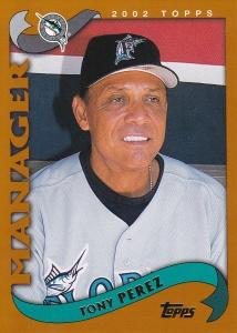 2002 Topps Tony Perez