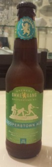 Ommegang Cooperstown Ale bottle