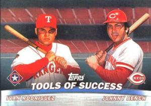 2001 Topps Combos Bench Pudge