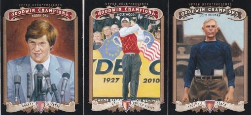 2012 Goodwin Champions first & 100s - Orr, Woods, Heisman
