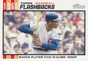 2015 Heritage BB flashback Ernie Banks