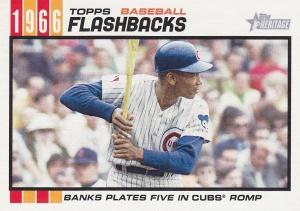 2015 Heritage BB flashback Ernie Banks