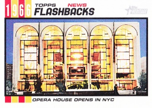 2015 Heritage Flashbacks Metropolitan Opera House