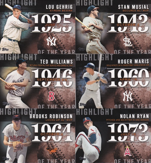 2015 Topps Highlight of the Year
