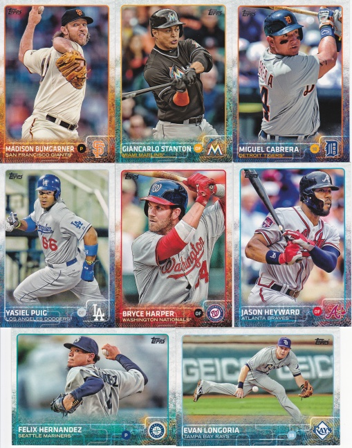 2015 Topps s1 best players