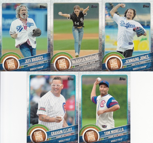 2015 Topps s1 First Pitch