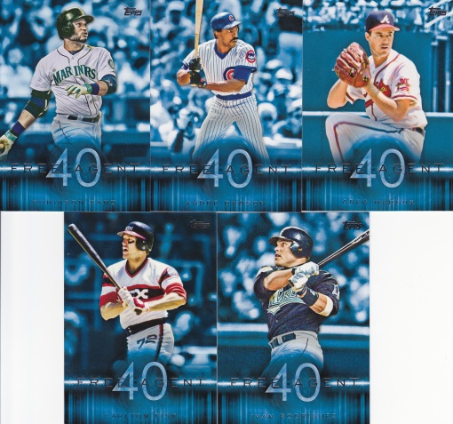 2015 Topps s1 Free Agent 40