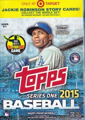 2015 Topps s1 Hanger Pack