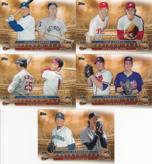 2015 Topps s1 Inspired Play