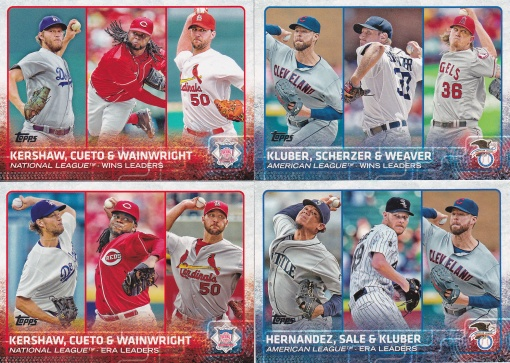2015 Topps s1 League Leaders Pitchers