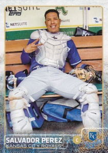 2015 Topps s1 Photo Variations - Salvador Perez