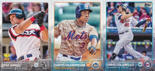 2015 Topps s1 retro uniforms
