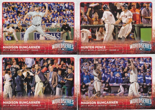 2015 Topps s1 World Series