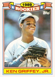 1990 Topps Glossy Rookies Griffey