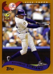 2002 Topps ASR Alfonso Soriano