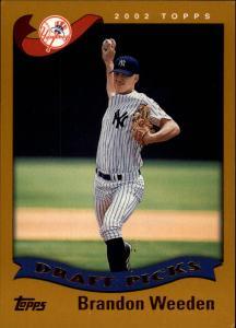 2002 Topps Draft Brandon Weeden