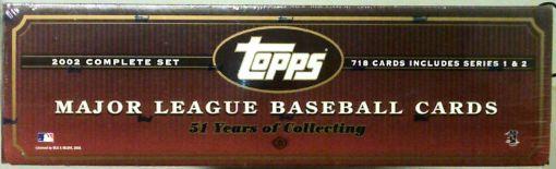 2002 Topps Factory set Hobby