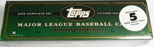 2002 Topps Factory set Retail