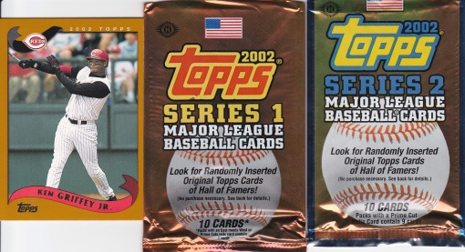 2002 Topps Griffey Packs