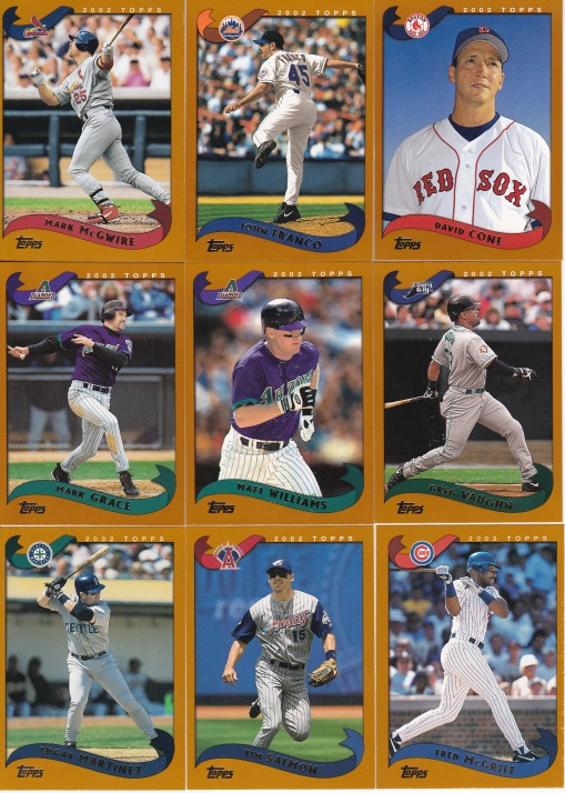 2002 Topps older players