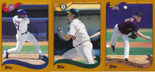 2002 Topps pre production