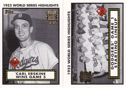 2002 Topps s1 box 52 World Series