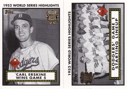 2002 Topps s1 box 52 World Series