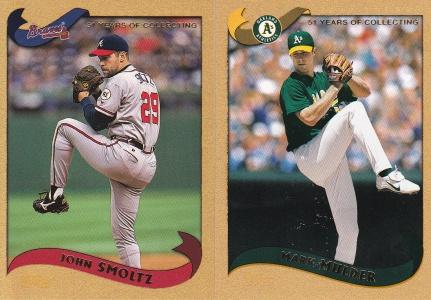 2002 Topps s1 box Gold Mulder Smoltz